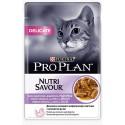 Purina Pro Plan Delicate Gato Pavo (Salsa)