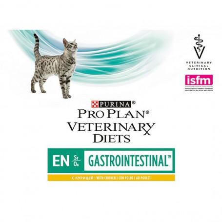 Purina Pro Plan Veterinary Diet FELINE EN Pouch Pollo, comida húmeda para gatos
