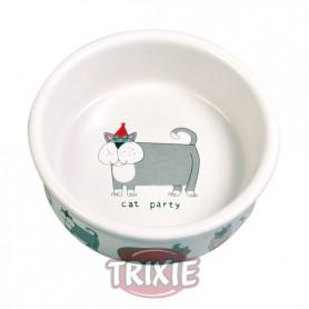 Comedero 4 cat bowls, ceramic