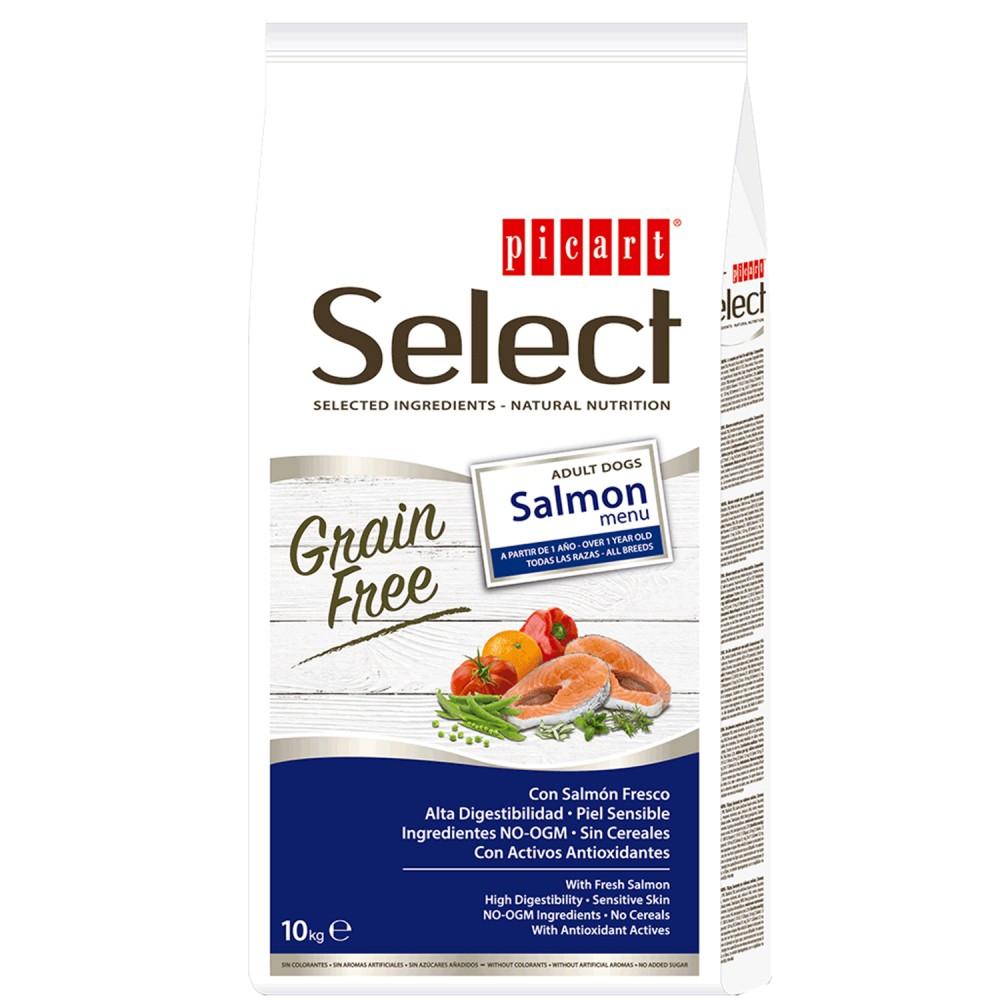 Picart Select Grain Free Salmon Menu