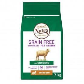 Pienso Nutro Grain Free Puppy Cordero