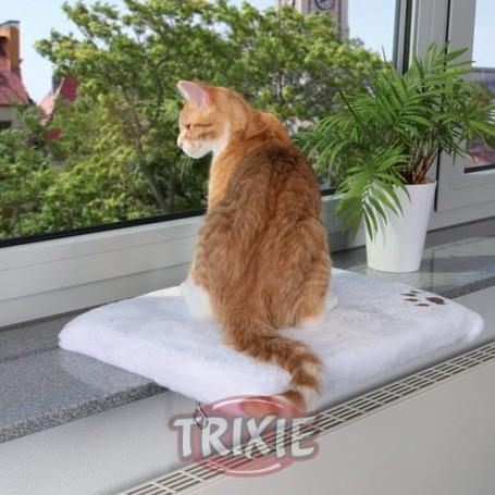 Plataforma gatos, Ventana Beige