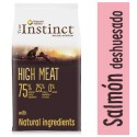 True Instinct High Meat Medium Maxi Adult Salmón