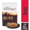True Instinct High Meat con Buey y Verduras