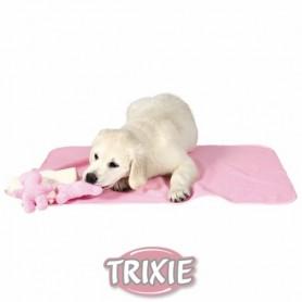 Pack Cachorros: Manta, 2 Brinquedos e Toalha Rosa