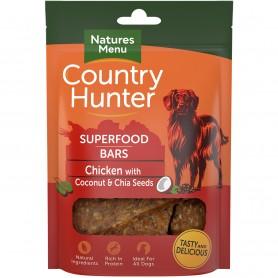 Snacks Deshidratados Natures Menu Country Hunter Pollo con Coco y Chía