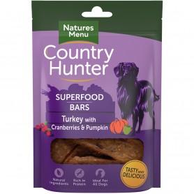 NM Country Hunter Superfood Bars Pavo con Arándanos y Calabaza