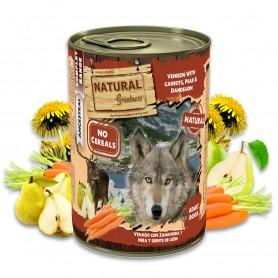 Natural Greatness Venado con zanahoria, pera y diente de león Perro...