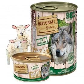 Natural Greatness Receta Cordero Perro (lata)