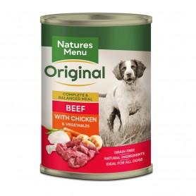 Natures Menu Latas Perro Ternera y pollo