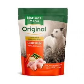 Natures Menu Bolsas Perro Pollo con verduras y arroz