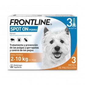 Frontline Spot On Perros 2-10 Kg