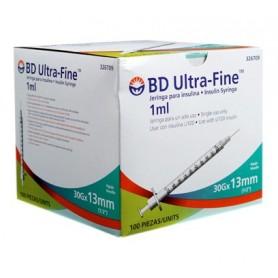 BD Ultra Fine Jeringuillas para insulina