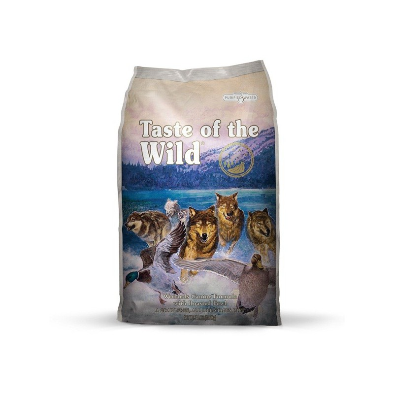 Taste of the Wild Wetlands, pienso para perros al mejor precio