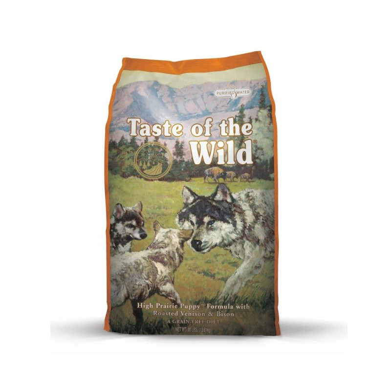 Taste of the Wild High Prairie Puppy, pienso natural para cachorros
