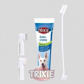 Set Higiene Dental, pasta y cepillos dedos