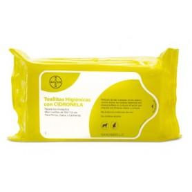 Toallita higienica con cidronela