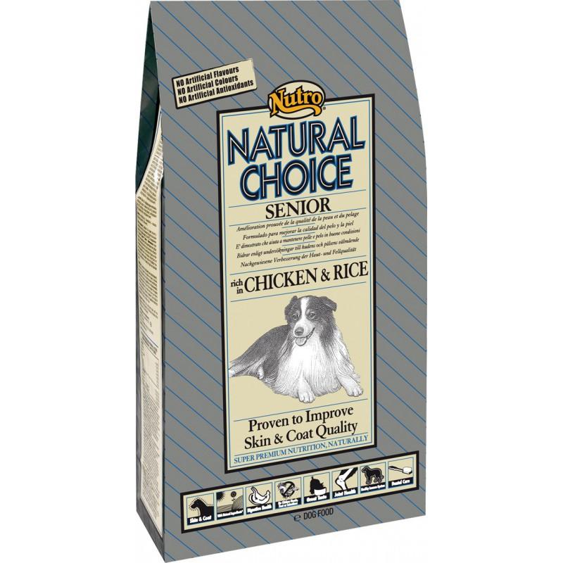 Nutro Natural Choice Senior Chicken & Rice