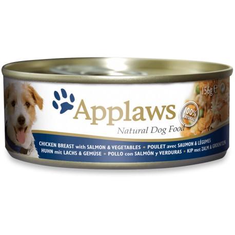Applaws Dog Pollo con salmón y verduras