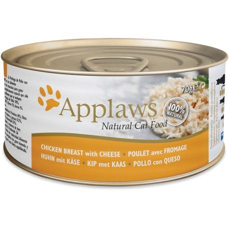 Applaws Cat lata pollo y queso
