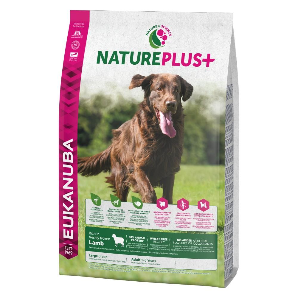 Ekanuba Nature Plus+ Adult Large Breed Cordero