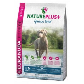 Eukanuba Nature Plu+ Grain Free Puppy&Junior Salmón