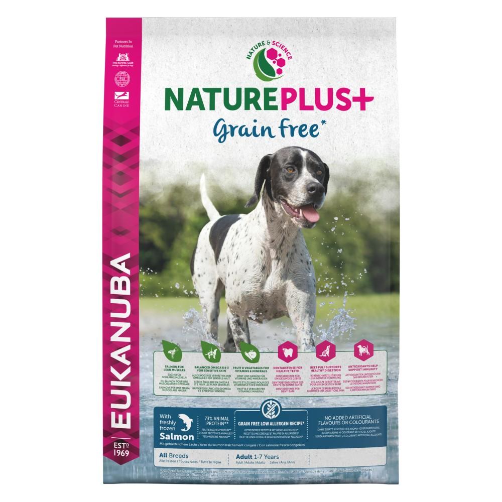 Eukanuba Nature Plus+ Grain Free Adult Salmón
