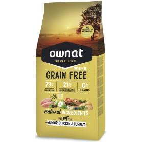 Ownat Grain Free Prime Junior Pollo y Pavo