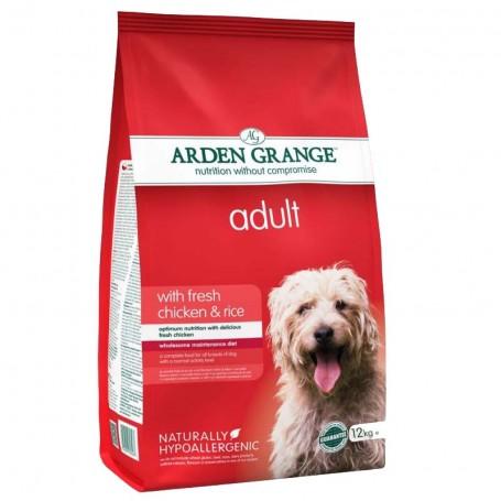 Arden Grange Adult Chicken & Rice, pienso para perros naturales