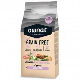 Ownat Just Grain Free Sterilized Cat