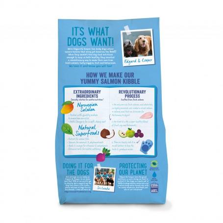 Edgard & Cooper, pienso parta perros  sin cereales con salmón fresco