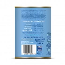 Edgard & Cooper, latas sin cereales con salmon y trucha para perros...