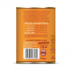 Edgard & Cooper, latas sin cereales con pollo y pavo para perros adultos