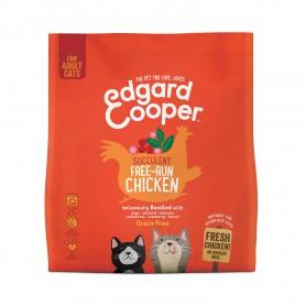 Pienso Edgard & Cooper, pienso sin cereales con pollo fresco para gatos adultos