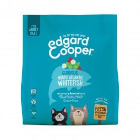 Edgard & Cooper, pienso sin cereales con pescado blanco fresco para gatos adultos