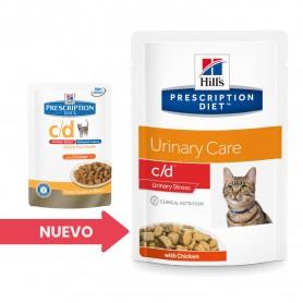 Hill's Prescription Diet Feline c/d Urinary Stress con Pollo