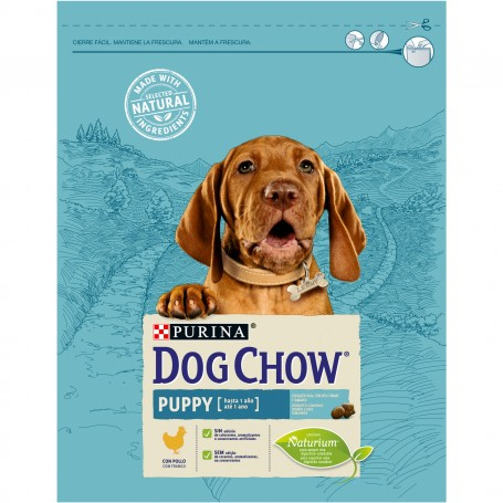 Pienso Dog Chow Puppy Pollo, para cachorros