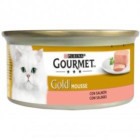 Purina Gourmet Gold Mousse Salmón