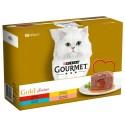 Purina Gourmet Gold Fondant Multipack Sabores