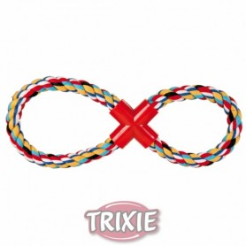 Cuerda en 8 cuerda, algodón, multic.