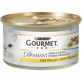 Purina Gourmet Diamant Finas lonchas con Pollo.